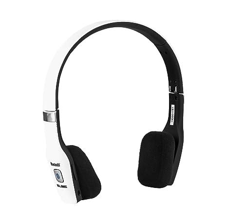 Elbe ABT-033-BL - Auriculares de diadema Bluetooth (plegables, con micrófono