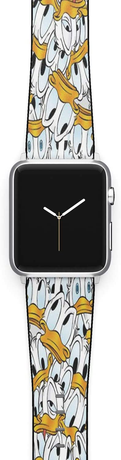 Watch Band Compatible with Apple iWatch All Series 38mm 40mm 42mm 44mm Cartoon Design Strap (disn15) (42/44mm)