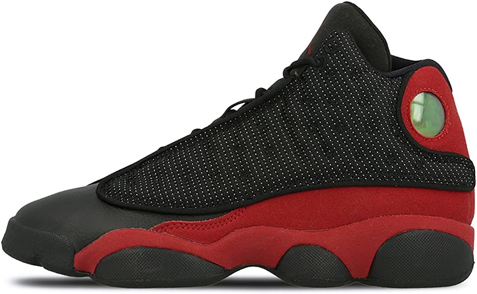new product 69d7d 3a19d ... Black True RED-White. Air Jordan 13 Retro BG  quot Bred 2017  Release quot  ...