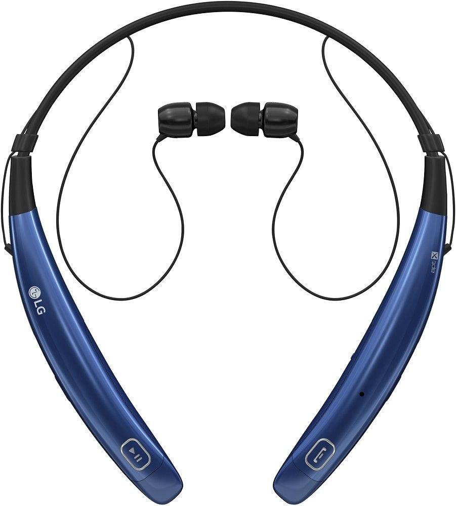 LG Tone Pro HBS-770 Stereo Bluetooth Headphones - Blue (Renewed)