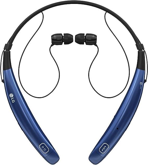 9fcc1357413 Amazon.com: LG Tone Pro HBS-770 Stereo Bluetooth Headphones - Blue  (Renewed): Cell Phones & Accessories