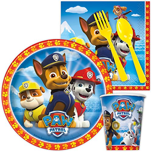 Paw Patrol Party Supplies Snack Party Pack (8)