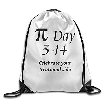 Marcus Pi Day Come to The Dork Side Drawstring Bags FunnyRunning Backpack  Sport Gym Bag School 3006e09876