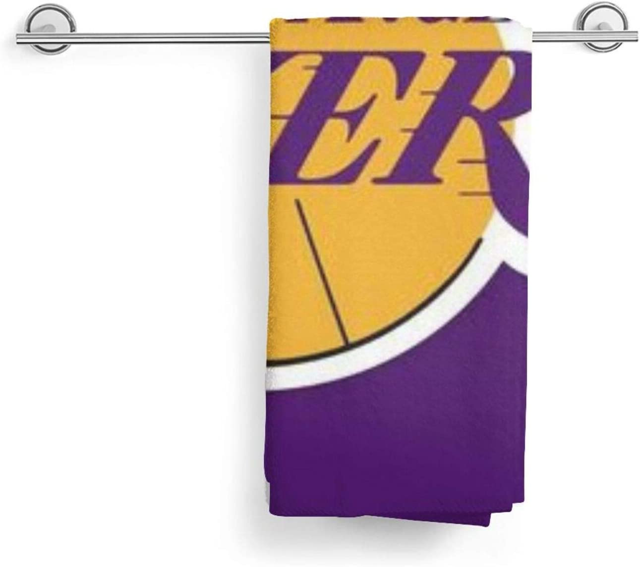 Microfiber Sand Free Beach La Lakers Towel Blanket-Quick Fast Dry Super Absorbent Lightweight Thin Towel for Travel Pool Swimming