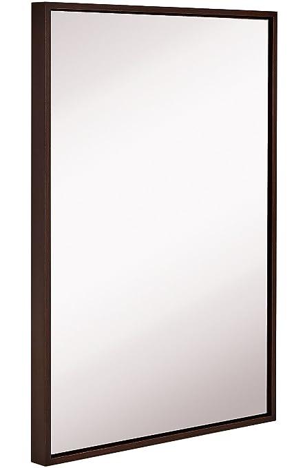 Amazon.com: Hamilton Hills Clean Large Modern Wenge Frame Wall ...