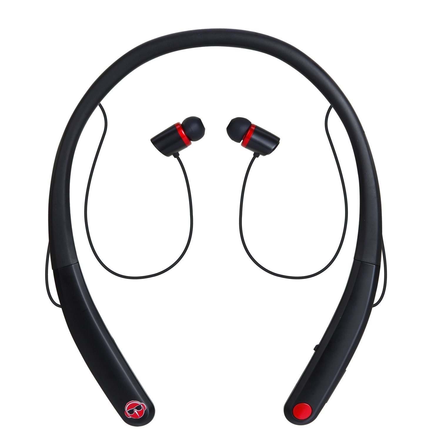 Hulorry Galaxy S9+ Sport Wireless Headset, Wireless Bluetooth Sports Earphones w/Mic Noise Cancelling HD Stereo Headset Universal Fit for Gym Running Workout for All Bluetooth Devices