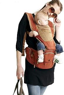 Circlefly Cinturino in vita sgabello bambino seggiolino con sgabello multifunzionale bambino traspirante doppia spalla