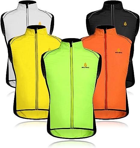 Motorcycle Sleeveless Waistcoat Windproof Reflective Wind Vest High Visibility