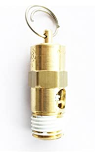 Sellerocity ASME Pop Off Safety Relief Valve Replaces Rolair SRV0250A175 W// ProPlus Tape