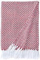 Manta Squared Etna Vermelho, 120x150 cm