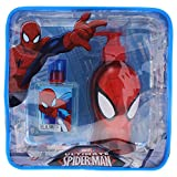 Marvel Ultimate Spider Man for Kids 2 Piece Gift Set with Edt Spray, Shower Gel and Toiletry Bag