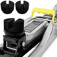 Deuba® 3x Gummiauflage Wagenheber mit Stahlverstärkung   universell einsetzbar   für alle gängigen Modelle   Rutschfest   Rangierwagenheber Hebebühne - Mengenauswahl