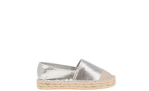 Parfois - Zapatos Alpargatas Metallic - Mujeres - Tallas 41 - Plateado: Amazon.es: Zapatos y complementos