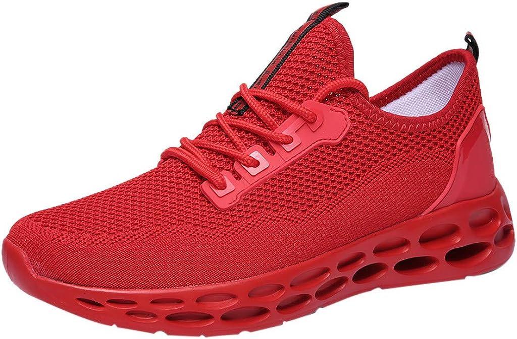Btruely Zapatillas de Deporte Calzado cómodo Calzado Casual de Hombre Zapatillas Deportivas Transpirables Zapatos para Andar con Cordones Bambas de Gimnasia Zapatos al Aire Libre: Amazon.es: Ropa y accesorios