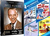 Song & Dance Legends of Hollywood Gene Kelly & Fred Astaire Collection On the Town / Royal Wedding / For Me and My Gal / Notorious Landlady 8 Film DVD Classic Movie Film Leading Men Star Pack