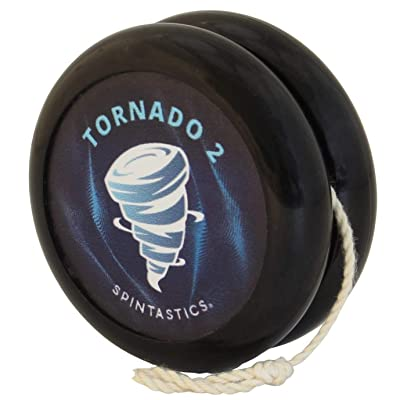 Spintastics Tornado 2 Ball Bearing Pro Yoyo (Black): Toys & Games
