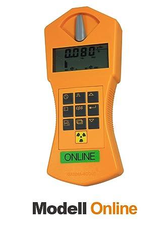 Gamma-Scout - Detector de radiación Geiger: Amazon.es: Instrumentos musicales