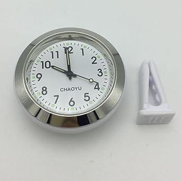 Reloj automático movimiento Perfume para coche, Jasper cuarzo reloj de coche Air Vent coche reloj