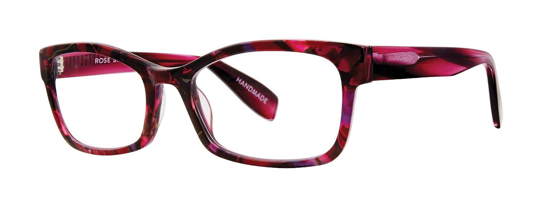Rose Street Rectangular Trendy Fashion Reading Glasses for Men and Women Spring Bloom