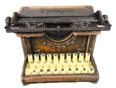 Sacapuntas Sacapuntas 7 cm Máquina de escribir Bronce Color Figura decorativa GV 560 – 8786