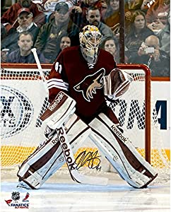 "Mike Smith Arizona Coyotes Autographed 16"" x 20"" In Net Photograph - Fanatics Authentic Certified - Autographed NHL Photos"