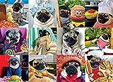 Doug the Pug Pug Life 1000-Piece Puzzle