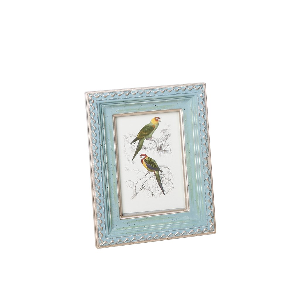 Fulemay 木製フォトフレーム「木の芸術」シリーズ 写真立て KG 2L 6切り グリンー ブルー ブラウン ホワイト B075LRPRSV KG|緑 緑 KG