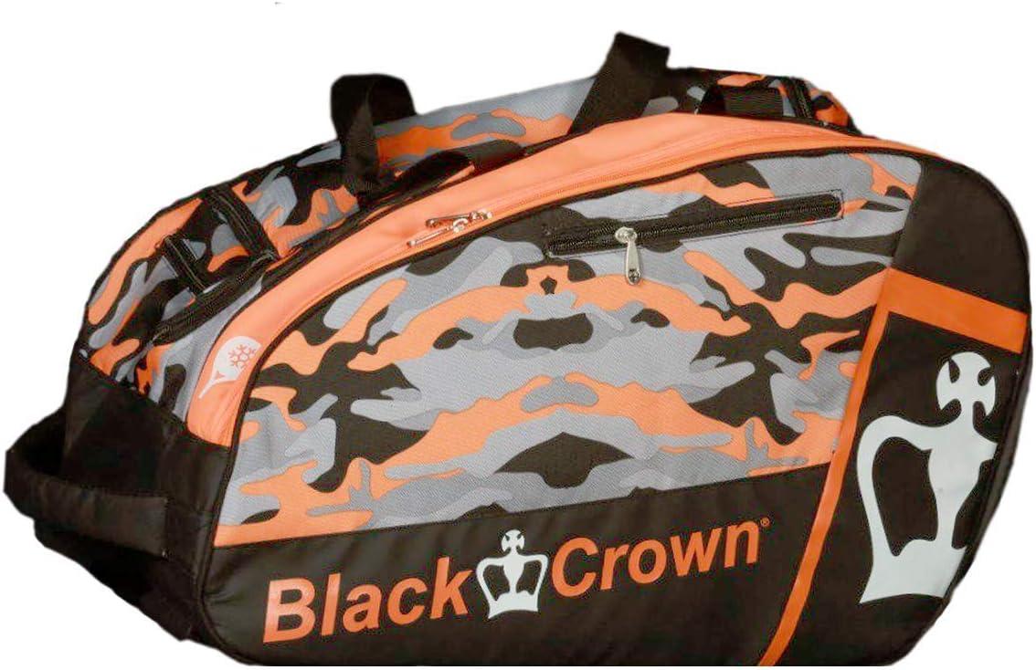Paletero Work Naranja | Bolsa de Pádel | Black Crown