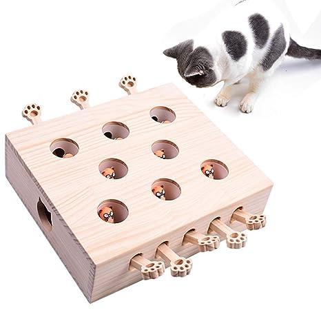 Gatos Juguete Interactivo Puzzle De Gato para Caza, Puede ...