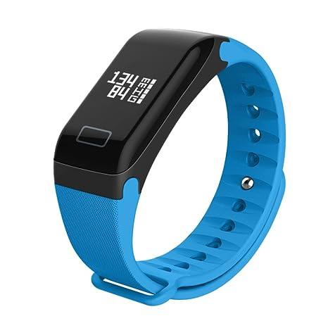 ACEBABY Pulsera Actividad, Reloj Pulsera Inteligente con Pulsómetro Pulsera Deportiva y Monitor, Ritmo Cardíaco