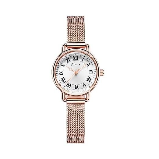Kimio k6213s Top Lujo Mujeres Relojes Moda banda de malla acero inoxidable pulsera reloj de cuarzo Relogio Feminino Relojes de muñeca para mujer: Amazon.es: ...