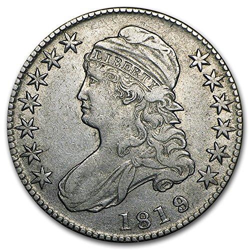 1819/8 Capped Bust Half Dollar XF Half Dollar Extremely Fine