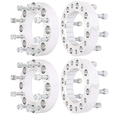 ECCPP 8x170 Wheel Spacers 8 lug 1.5 inch 8x170mm to 8x170mm 125 mm fits for Ford F250 F350 Excursion Powerstroke: Automotive