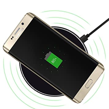 zuoao Wireless cargador - Qi cargador rápido induktive ...