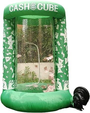 Amazon.com: Cabina inflable de cubo de dinero para ...