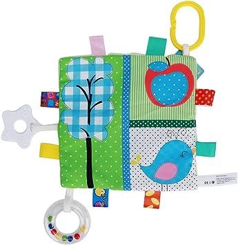 Ropa de bebé Suave Libro de actividades Juguetes de educación ...