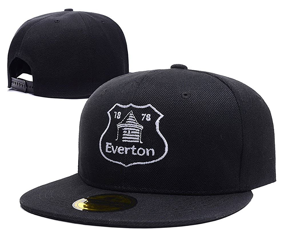 8d3c4548169 Amazon.com  HAIHONG Everton Football Club FC Logo Adjustable Snapback  Embroidery Hats Caps  Clothing