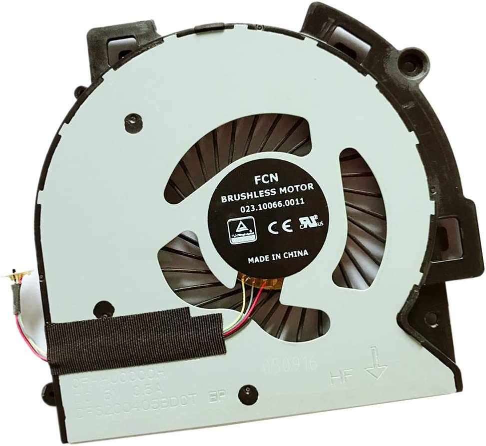 Replacement Compatible Laptop CPU Cooling Fan Cooler for HP Envy X360 M6-AQ005DX M6-AQ006DX M6-AQ103DX M6-AQ105DX M6-AQ025DX M6-AQ003DX FOXCONN BONBON15 023.10066.0001 NFB80A05H-001 DFS200405BDOT