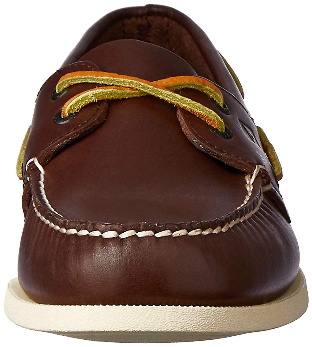 Amazon.com | Sperry Topsider The A/O 2-Eye Boat Shoe in Classic Brown | Shoes