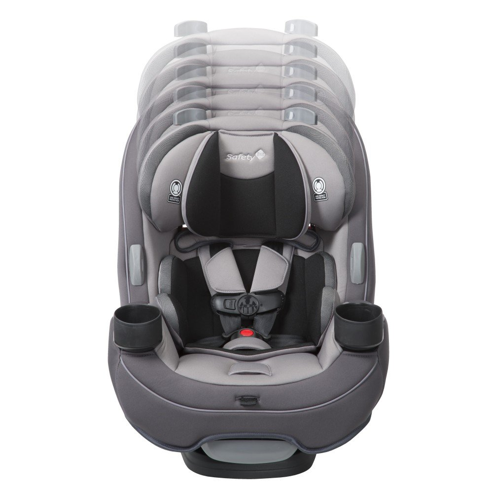 Safety 1st Grow Go 3 In 1 Convertible Car Seat Night Horizon Gray CC138EES