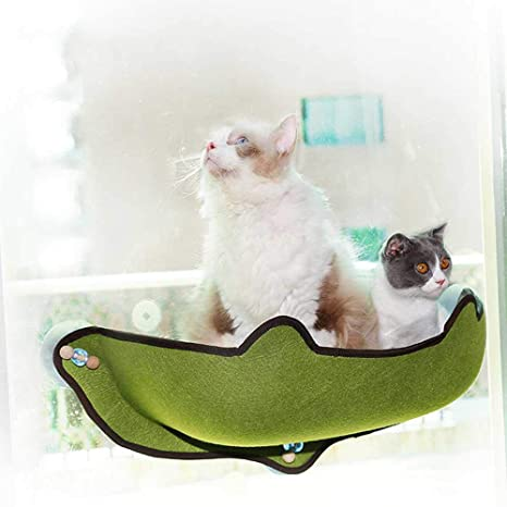 Womdee Cama Hamaca Gato de la Ventana, Gato Ventana Perca alféizar del Gatito con 1