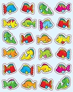 Carson Dellosa Fish Shape Stickers (5252)
