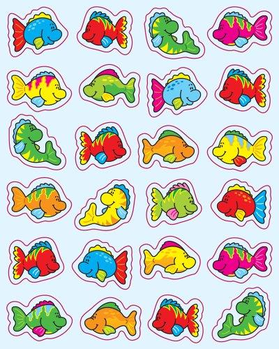 - Carson Dellosa Fish Shape Stickers (5252)