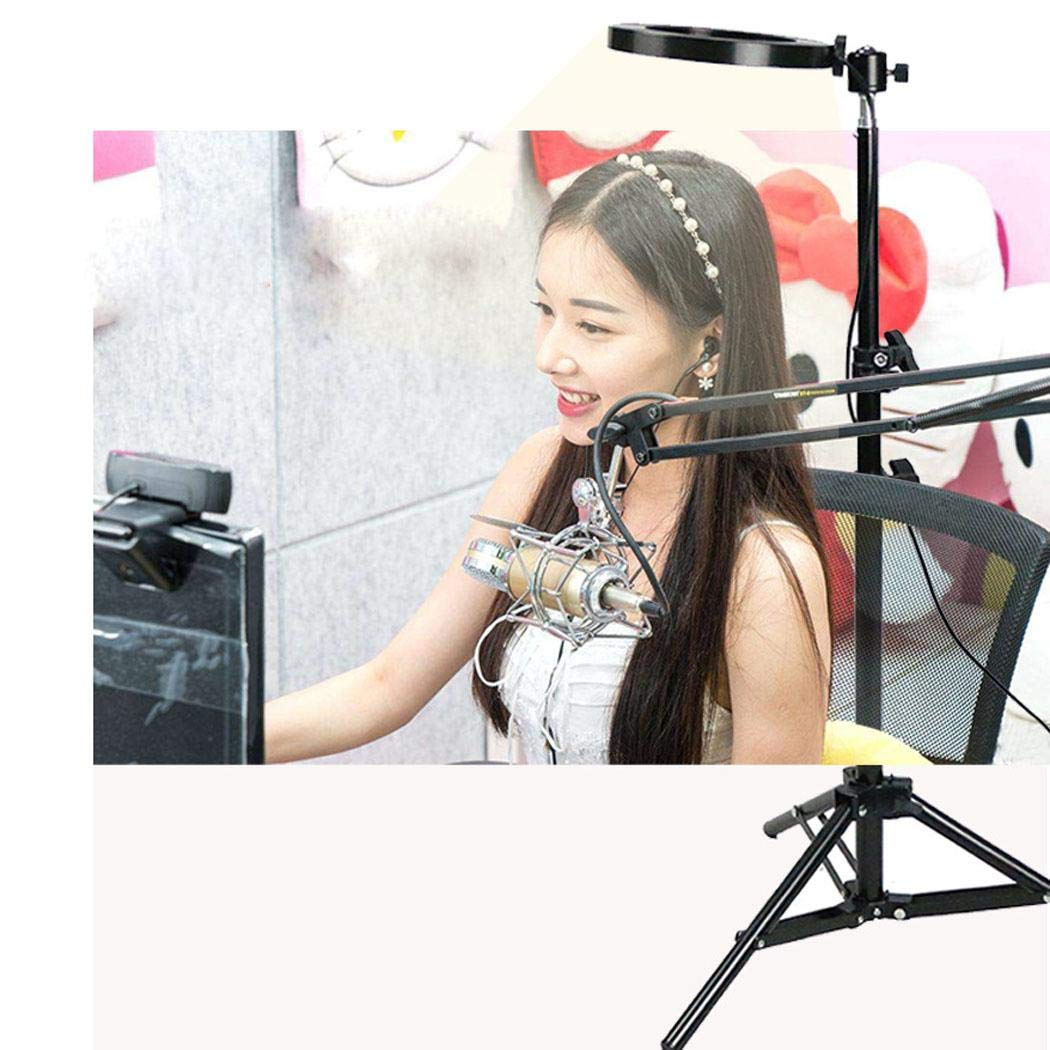makalar Broadcast Live Photography Fill Light LED Camera Phone Flash Dimmable Light On-Camera Video Lights