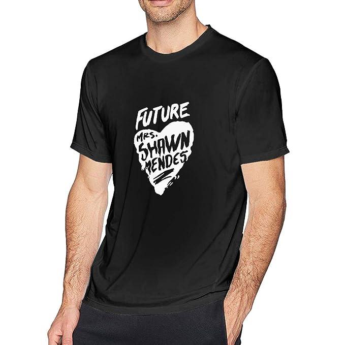 b7bef727f Amazon.com: Future Mrs Shawn Mendes Love Mens Short Sleeve T Shirt ...
