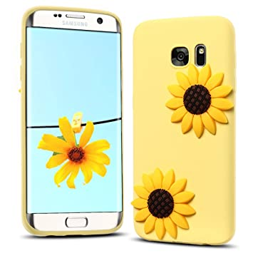 Funda Samsung S7, Carcasa Galaxy S7 Silicona, RosyHeart 3D Ultra Delgado TPU Goma Funda para Samsung Galaxy S7 Ultrafina Suave Opaco Gel Parachoques ...