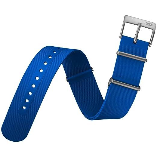 ZULUDIVER Rubber Watch Band UK MOD Royal Blue a86d4b9511d4