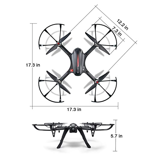 Amazon Com Mjx Bugs3 Quadcopter Drone With Brushless Motor 1080p