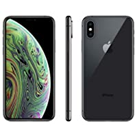 Apple iPhone XS, 64GB, Space Gray - Fully Unlocked (Renewed)