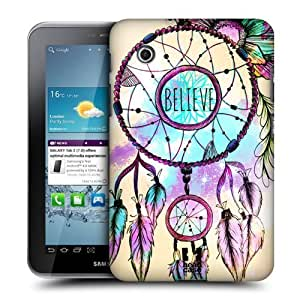 AIYAYA Samsung Case Designs Dreamcatcher Trend Mix Protective Snap-on Hard Back Case Cover for Samsung Galaxy Tab 2 7.0 P3100 P3110